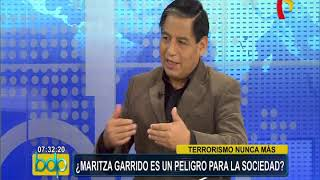 Especialista considera que Maritza Garrido Lecca representa un peligro para la sociedad