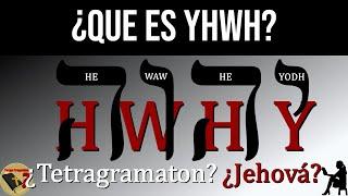 ¿Es Realmente Jehová el Nombre de Dios? ¿Qué es YHWH? ¿...