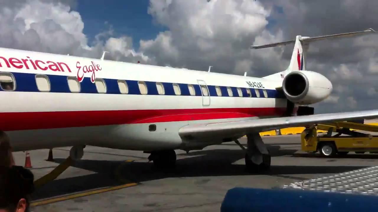 American Eagle Embraer Erj 145 Miami International