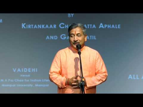 Lecture Demonstration on Marathi Natya Sangeet by Shri Charudutta Aphale-Part 1