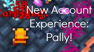 New Account Experience | Paladin | Realm of the Mad God