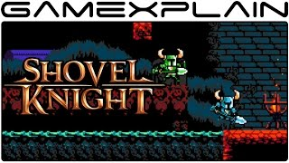 Shovel Knight Co-op Gameplay on Nintendo Switch (The Lich Yard)