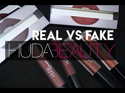 Huda Beauty Fake Vs Authentic Xanisa Singapore Youtube