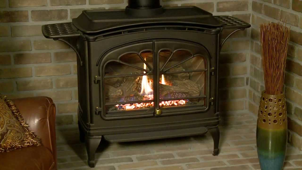 Classic style. Efficient heating. Durable cast iron construction. The Tiara II brings the timeless appeal of a burning stove into a new age. For more informa...
