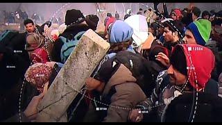 Pattanásig feszült a helyzet a török-görög határon
