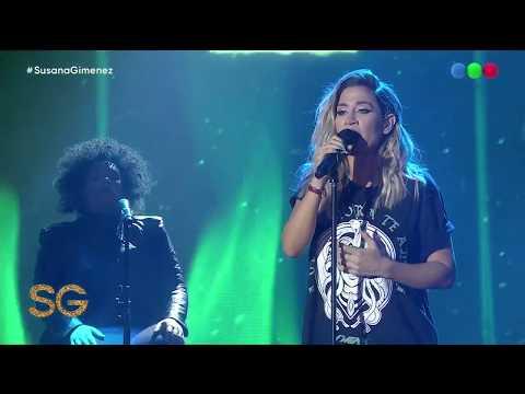 VIDEO: Jimena Barón canta 'La cobra' y 'Se acabó' en vivo - Susana Giménez 2019