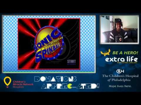 Sonic Genesis Collection: Charity Stream For The Children's Hospital of Philadelphia (Part 1)