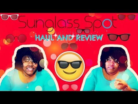 🕶Sunglass Spot Haul & 🕶