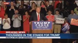 full speech donald trump campaigns in estero fl