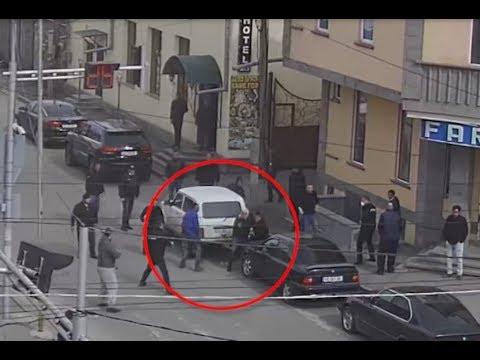 Подробности выстрелов 26 - ого марта в Ахалкалаки, кадры с камер видео наблюдения