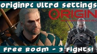 See Witcher 3 run @60FPS! - Ultra Settings OriginPC Gameplay (1080p60HD Option available!)