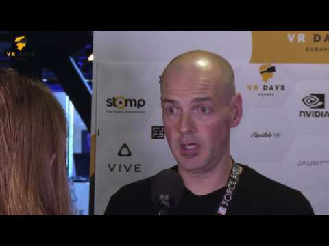 Interview Andrew Curtis (Force Field VR) at VR Days Europe 2016