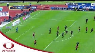 Gol de Velázquez  | Pumas 0 - 1 Veracruz | Clausura 2017 - Jornada 15 | Televisa Deportes