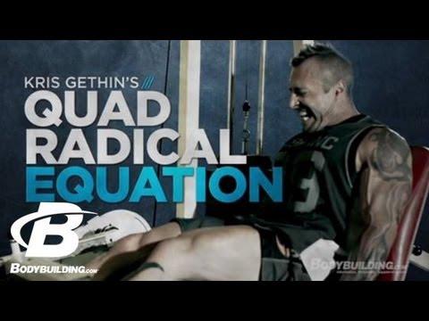 Kris Gethin's Quad Radical Equation Workout Leg Workout Bodybuilding.com