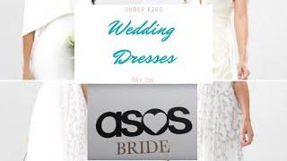 ASOS Wedding Dresses under £200 - Try on