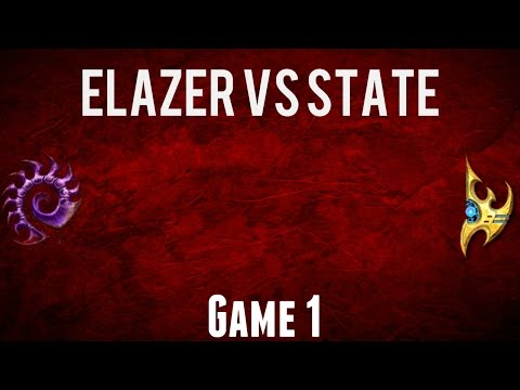 LOTV: ELAZER (Z) vs STATE (P) GAME 1 - DH Leipzig