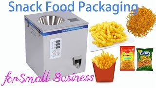 Fries and Namkeen packaging machine for small business