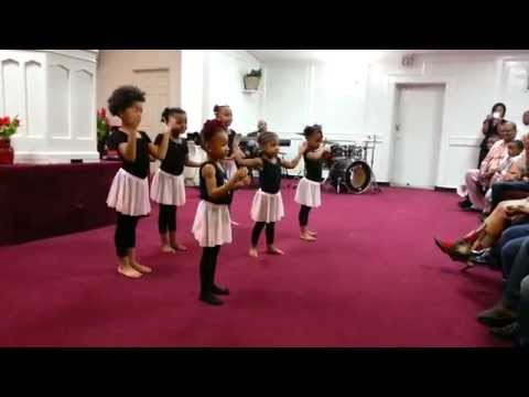 Jesus Tabanacle Toddler Praise Dancers