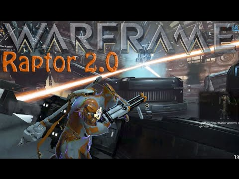 Warframe - Raptor 2.0 Boss Fight (explained)