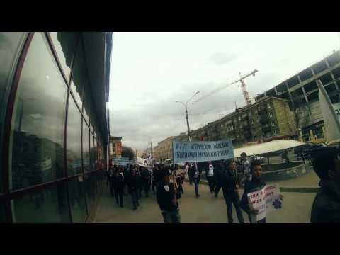 Шествие к памяти жертв Геноцида Армян | Воронеж