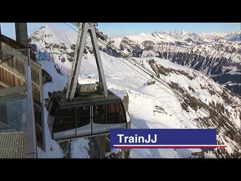 Schilthornbahn | Mürren - Birg | Cable Car | Schilthorn - Piz Gloria |Swiss Skyl