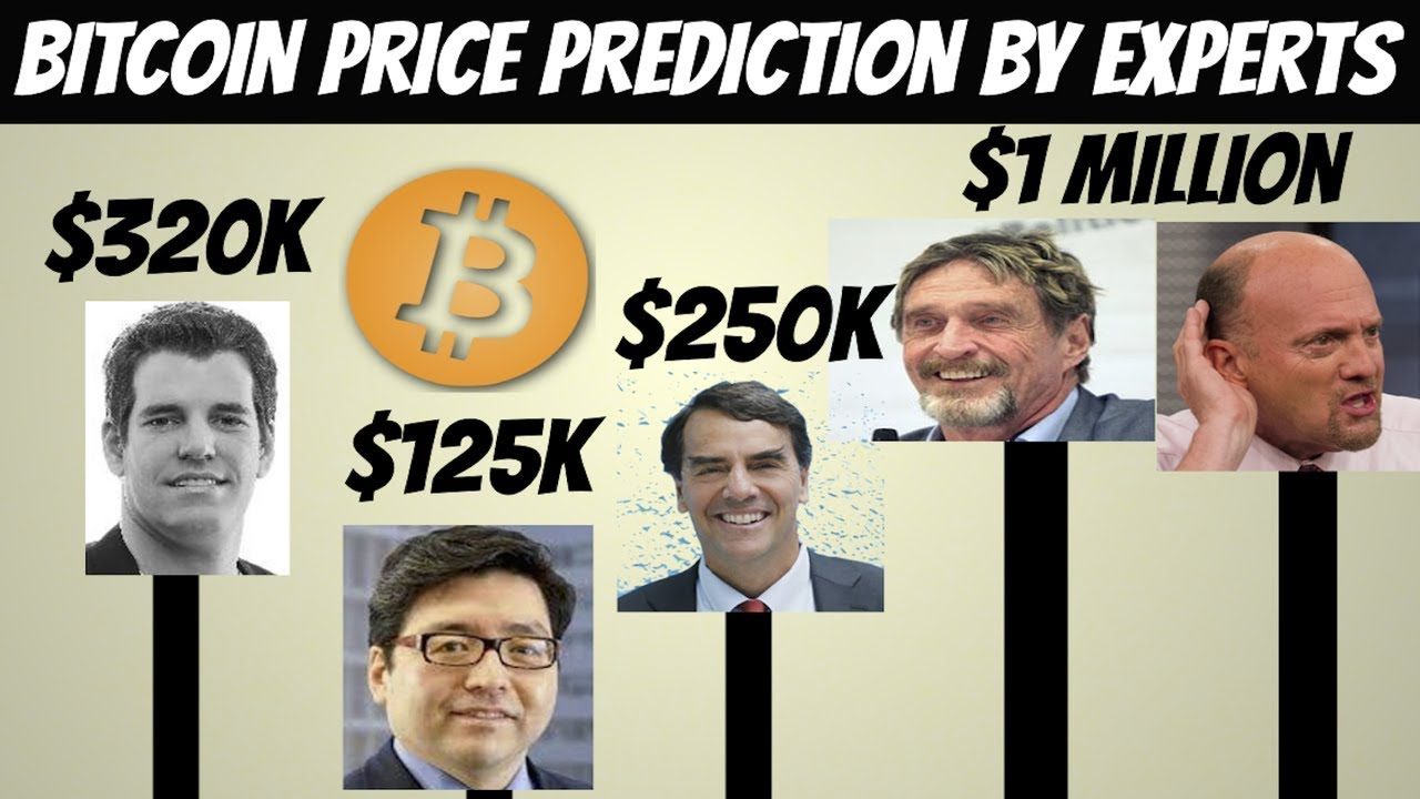 Bitcoin Price Prediction by Cryptocurrency experts (2018)
