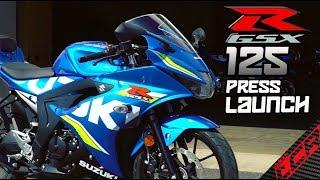 Suzuki GSX-R 125 | Ride Review & Press Launch!