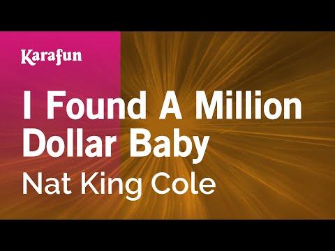 Karaoke I Found A Million Dollar Baby - Nat King Cole *