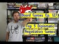 Top 5 Diplomatic Negotiation Board Games