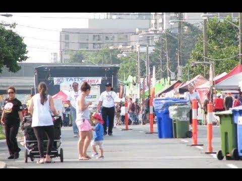 Taste of Manila Street Festival Bounces Back in Toronto