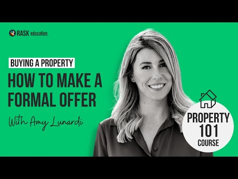 How to make a offer to buy a property (in Australia)