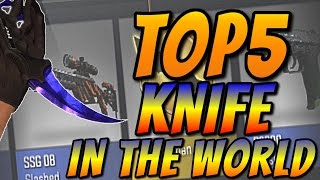 TOP 5 KNIFE OPENING REACTIONS IN THE WORLD (+10000$) | TOP 5 KOS I REAKCJI NA ŚWIECIE - CS:GO
