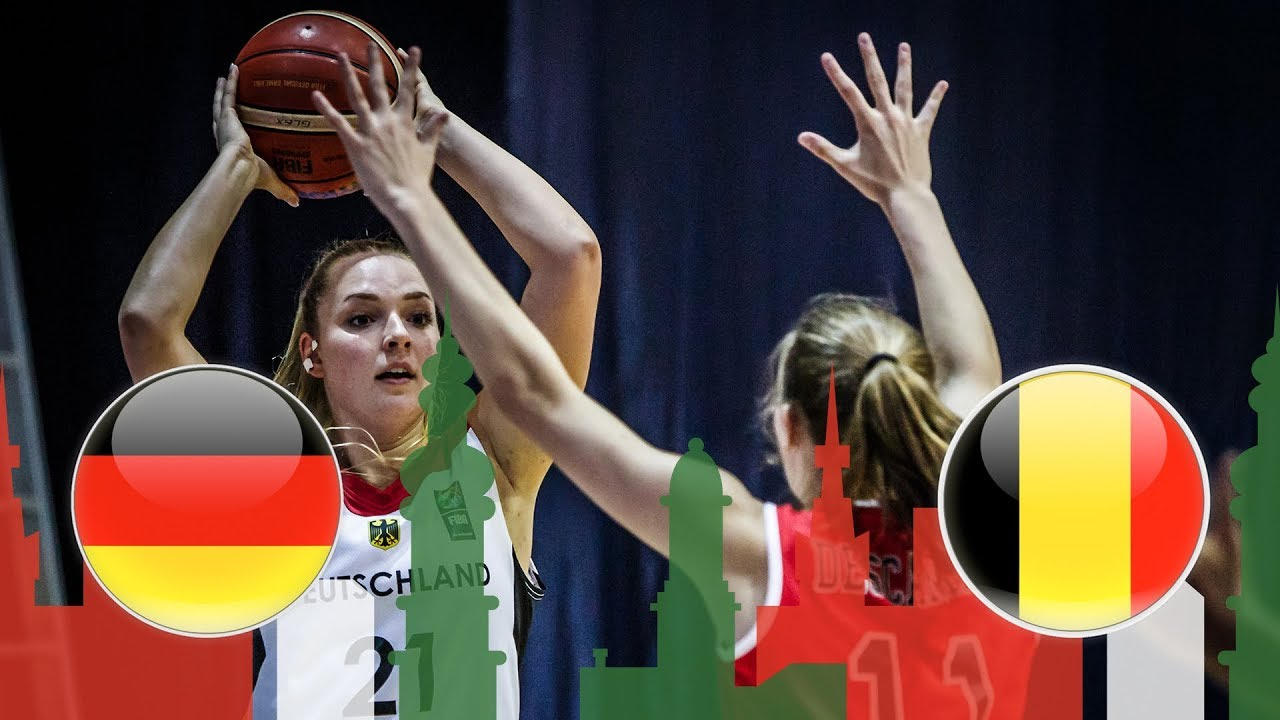 Germany v Belgium - Full Game - Class Game 9-10