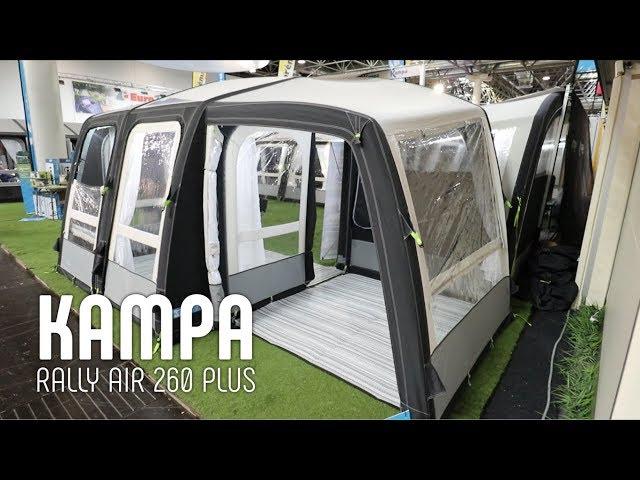 Nemt og praktisk luft rejsetelt fra Kampa (2018 model)