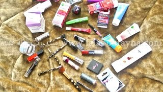 مشترياتي للعناية بالبشرة و الجسم+مكياج Haul beauté et makeup؛Garnier؛L'Oréal;Maybelline؛dove
