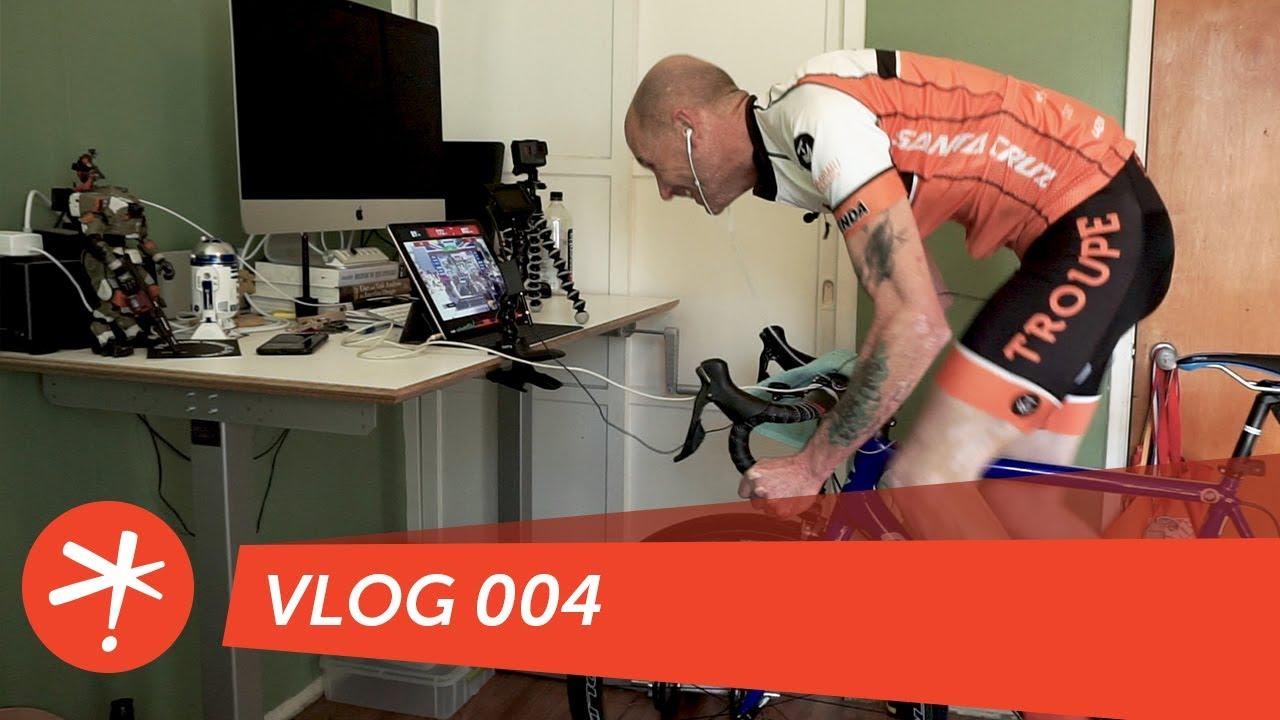 Sufferfest Full Frontal 4DP Test - Vlog 004