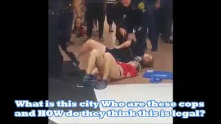 Cops Strip two young girls in a Walmart
