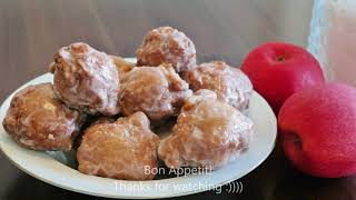Easy Apple Fritters (Donuts) Recipe