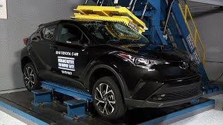 Toyota's new small SUV earns good crash protection ratings More inf...