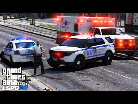 GTA 5 LSPDFR Police Mod 489 | NYPD  Captain Supervisor Patrol  | New York City Police Department