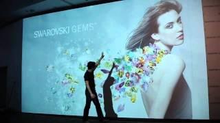 Swarovski Gems | interactive sparkling wall Thumbnail