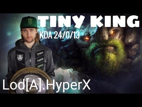 EPIC TINY - Alliance.Lod[A].HyperX - DOTA 2 - v6.87d- [Mid lane] - [GANKER] - [GAME PLAY]