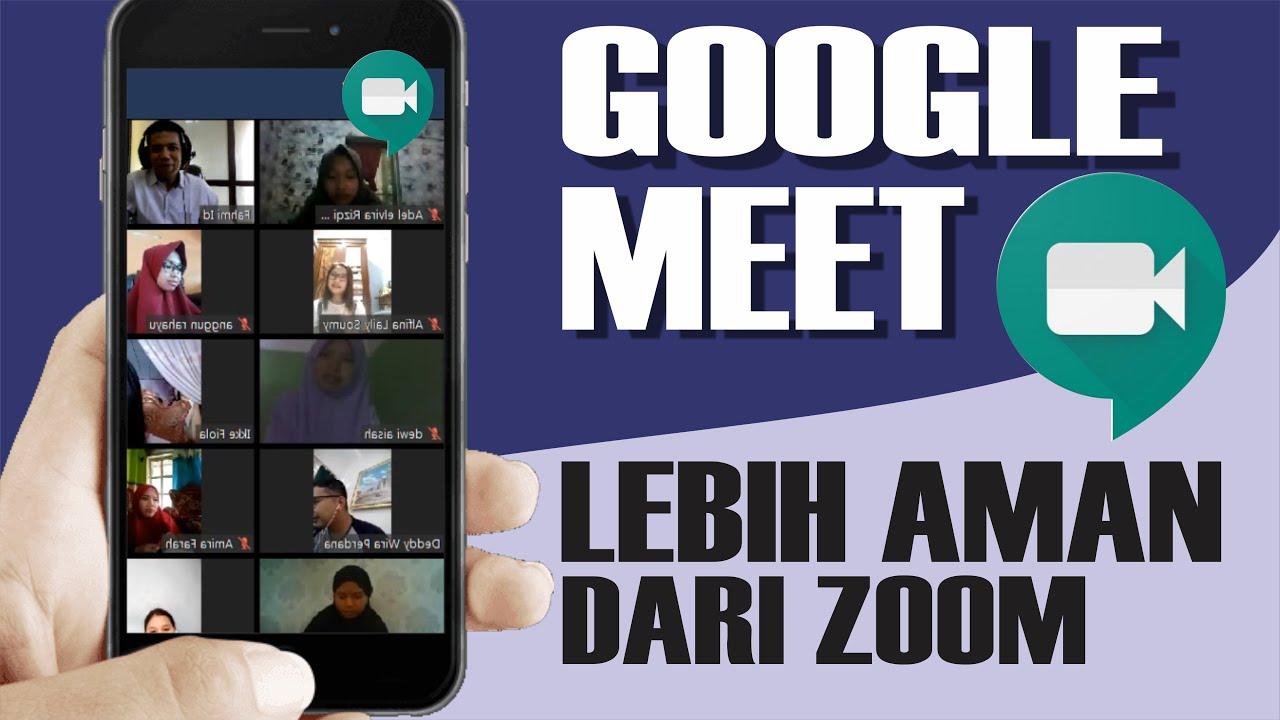 Cara Menggunakan Google Meet Di Laptop Pc Youtube