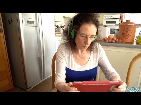 Woman Wears Ear Protectors 24 Hours A Day