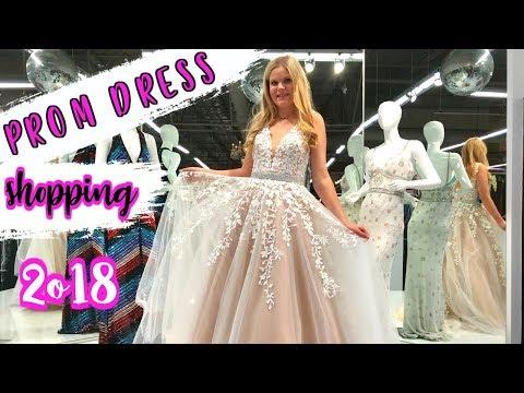 PROM DRESS SHOPPING 2018! | Sherri Hill