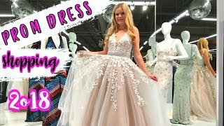 PROM DRESS SHOPPING 2018! | Sherri Hill