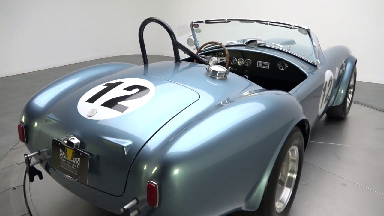 1965 Shelby Cobra Backdraft Racing | Mustang Quest