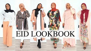 EID LOOKBOOK 2018 | Modest Fashion | Aysha Abdul