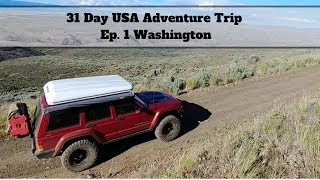 EP. 1: Washington BDR, free camping and Cape Disappointment