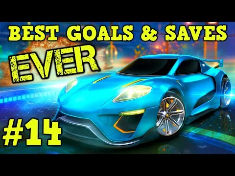 Rocket League Montage: BEST GOALS & SAVES EVER #14 - Freestyle goals, epic plays & more [HD]